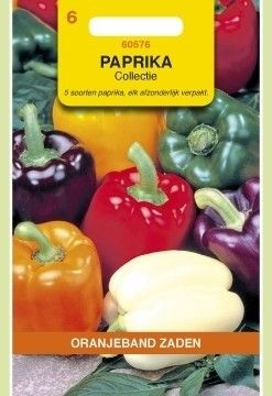 Paprika Collectie. Oranjeband