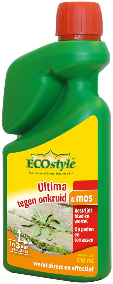 Ecostyle Ultima onkruid & mos concentraat 510ml