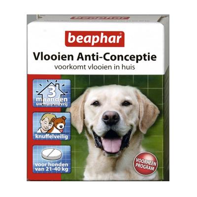 Beaphar vlooien Anti conceptie hond 21-40kg