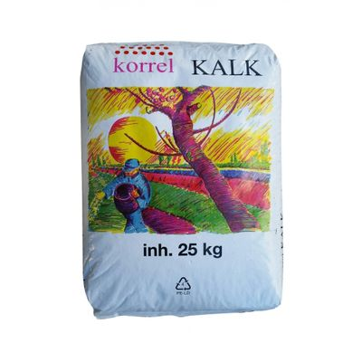 Foto van Korrelkalk 25kg