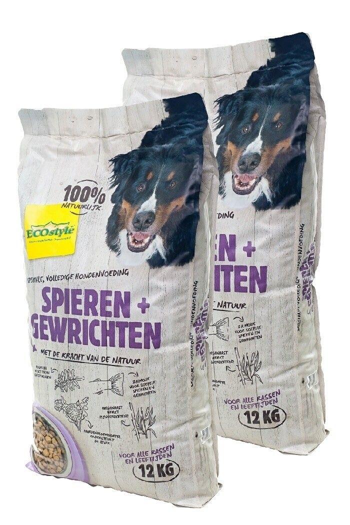 VITALstyle hondenvoer Spieren en Gewrichten duopack 2x12kg