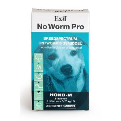 Foto van No Worm Pro wormtabletten hond 2 stuks