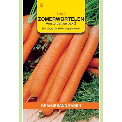 Zomerwortelen Amsterdamse Bak Oranjeband