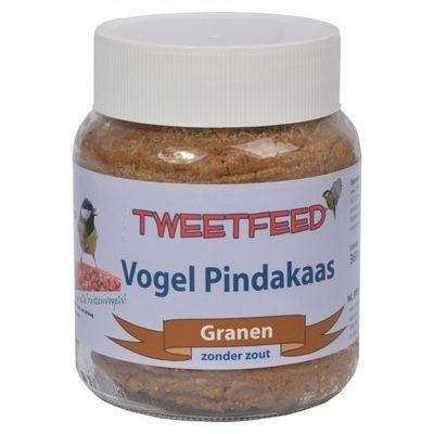 Foto van Vogelpindakaas Tweedfeed met granen 360gr 12 stuks