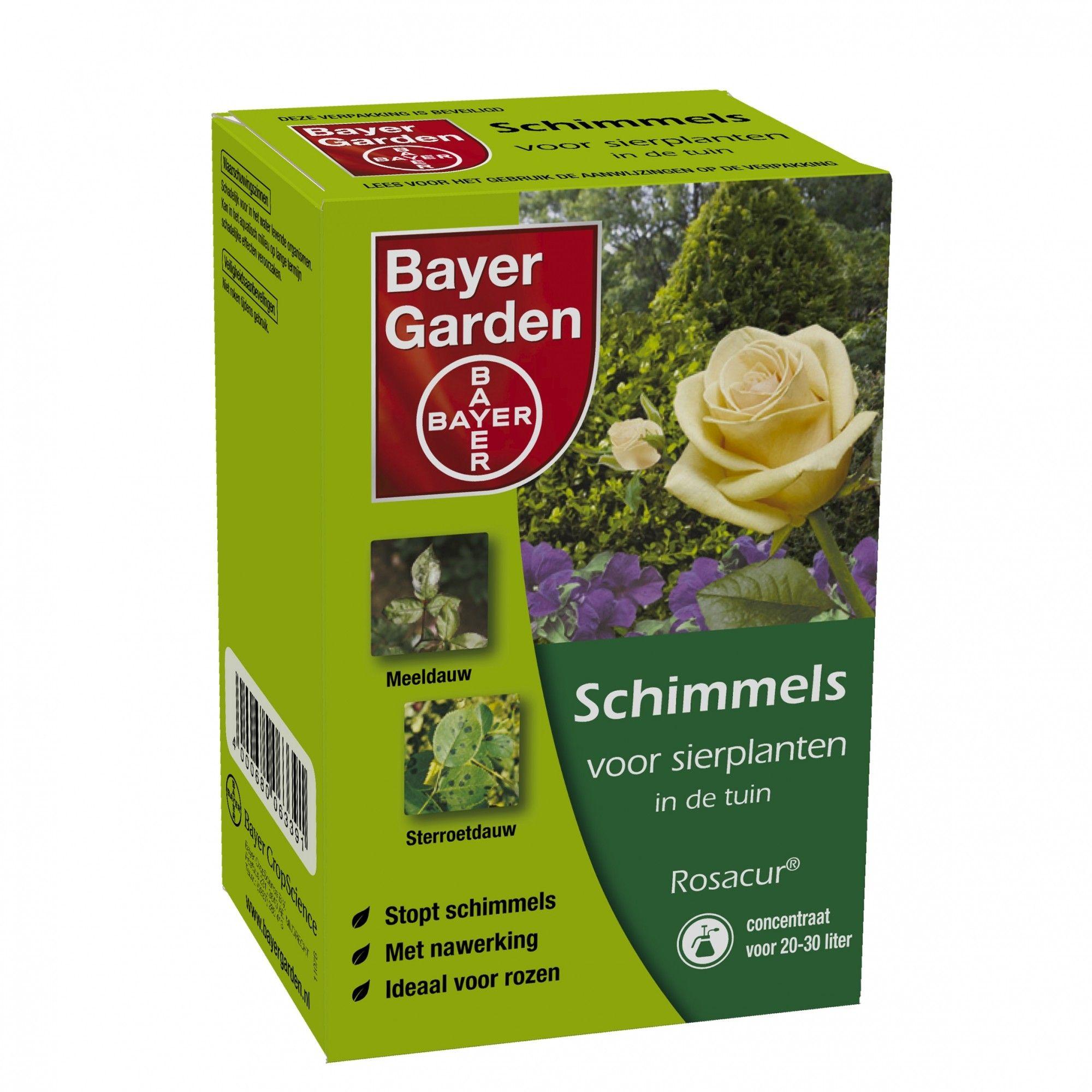 Rosacur Bayer tegen o.a. sterroetdauw en meeldauw