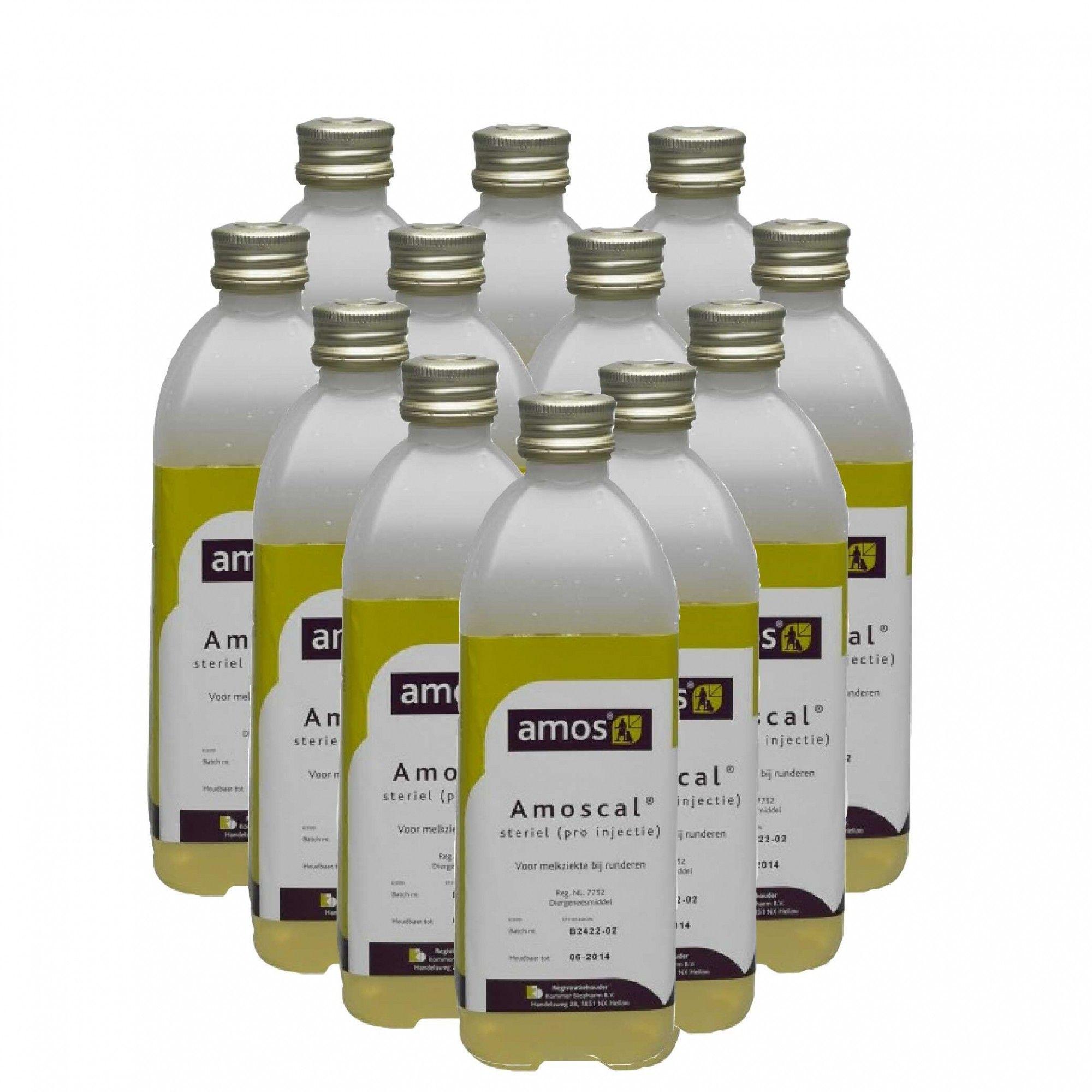 Amoscal melkziekte infuus 450ml 12 stuks