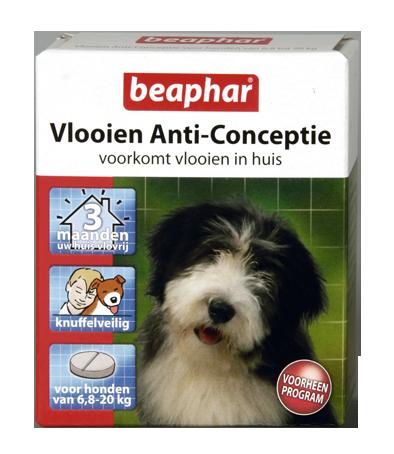 Beaphar vlooien Anti conceptie hond 6.8 - 20kg