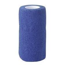 Zelfklevende bandage Equilastic 10cm blauw