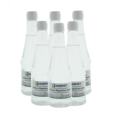 Foto van Calcium-magnesium drank Agrivet 500ml 6 stuks