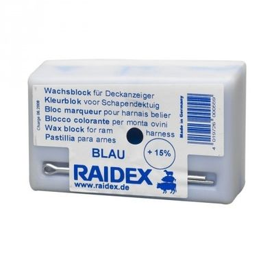 Schapen dekblok Raidex blauw