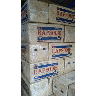 Foto van Rapsodie koolzaad strooisel 20kg 24 stuks