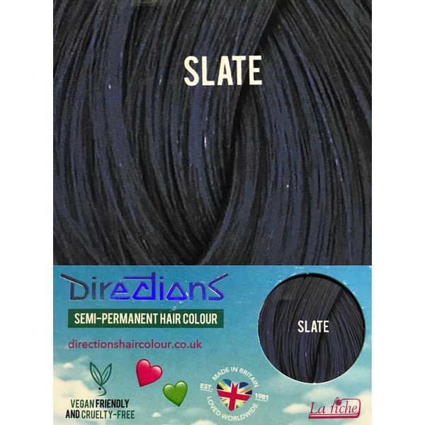 Directions   Semi Permanente Haarverf Slate