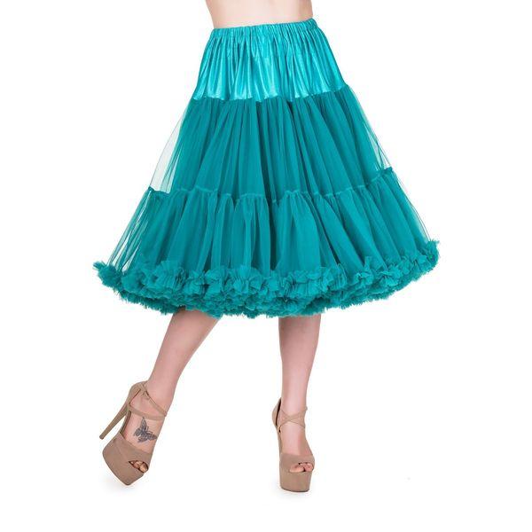 Petticoat Lifeforms, kuitlang met extra volume, emerald