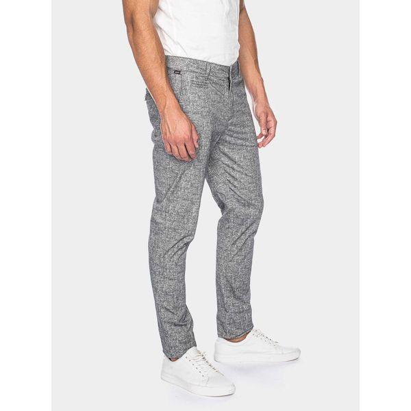 ATO Berlin | Dino, grijs gemeleerde pantalon
