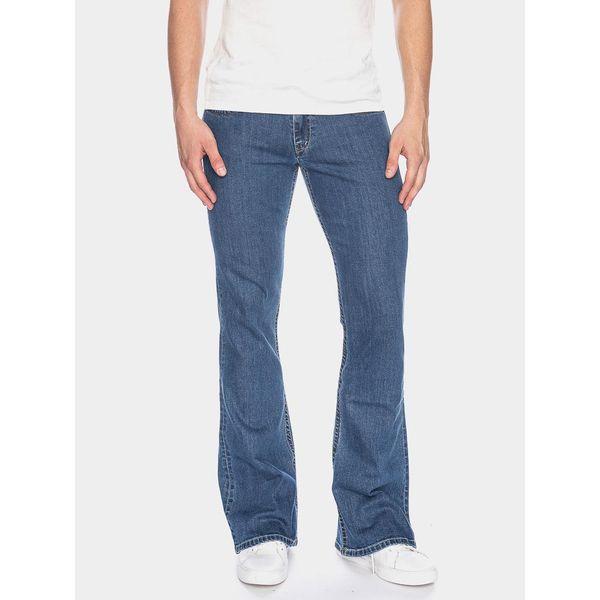 ATO Berlin   Jeans Fred, biokatoen blauw used wassing