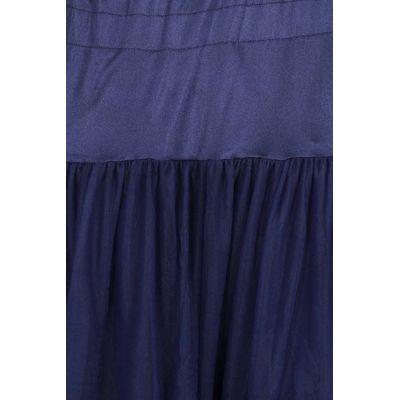 Foto van Banned | Petticoat Lifeforms, kuitlang met extra volume, night blue