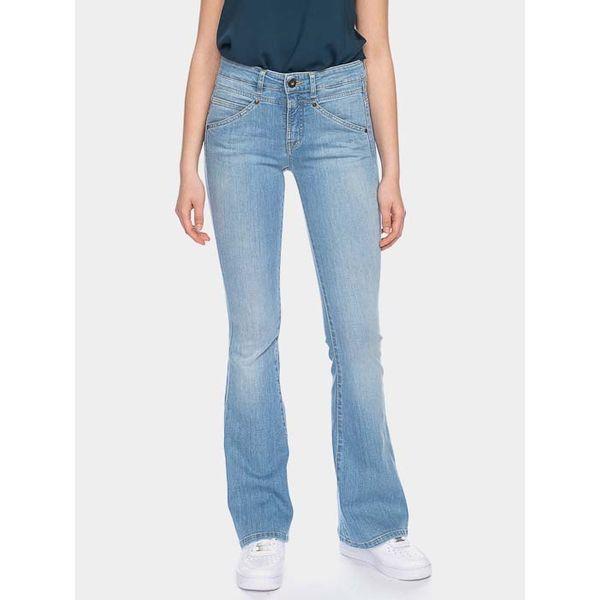 ATO Berlin   jeans Karlie, extra lichte denim met wijde pijp