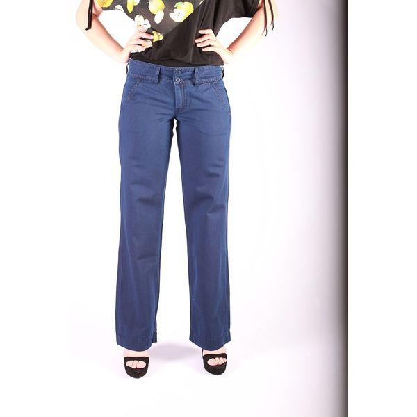 Pantalon Lilia, retro blauw, Ato-Berlin