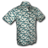Afbeelding van Chenaski | Overhemd korte mouw Japanese Waves mint