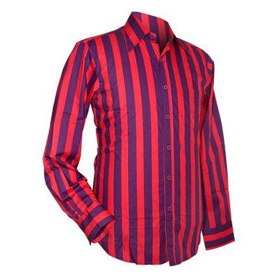 Chenaski | overhemd seventies, Stripes, violet en pink