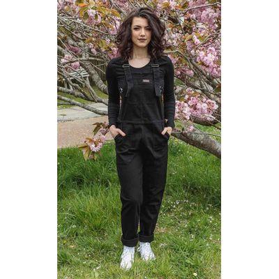 Foto van Run & Fly   Zwarte stretch tuinbroek, strakke pijpen, unisex
