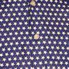 Afbeelding van Chenaski   Blauw wit seventies overhemd Stars