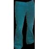 Afbeelding van Ribcord retro broek petrol, wijde pijp normale lengte