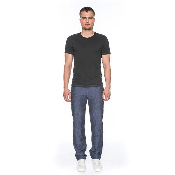 ATO Berlin | Pantalon Balou blauw met witte pin-stripe