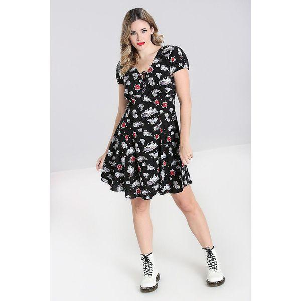 Hell Bunny | Mini jurk Star Catcher zwart