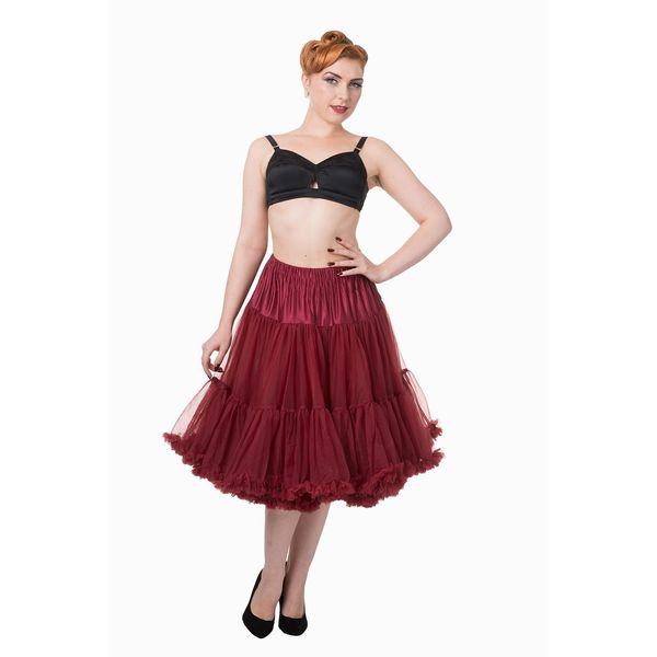Petticoat Lifeforms Kuitlang met extra volume, bordeaux