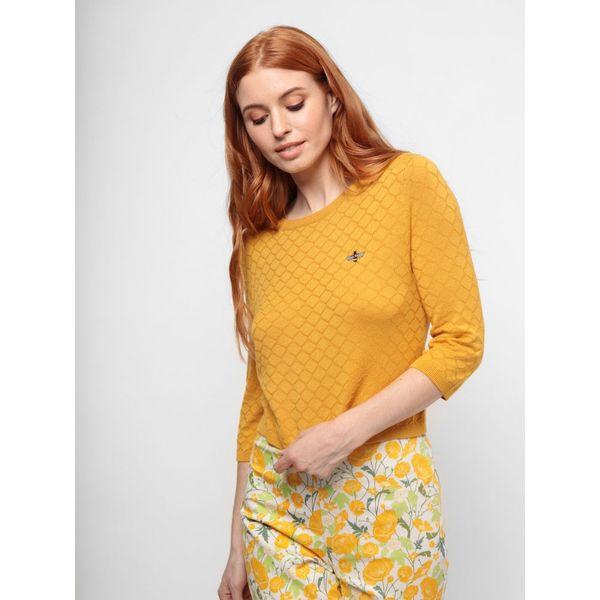 Collectif | Gele jumper Beth buzzy bee