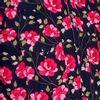 Afbeelding van Overhemd Cowboy, Flowers, navy roze