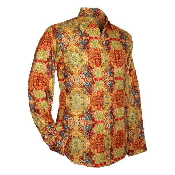 Chenaski | overhemd seventies, Ornamentical, colourful