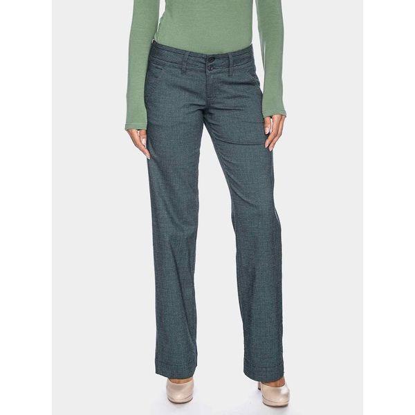 ATO Berlin | Pantalon Lilia met fijn groen grijs ruitje