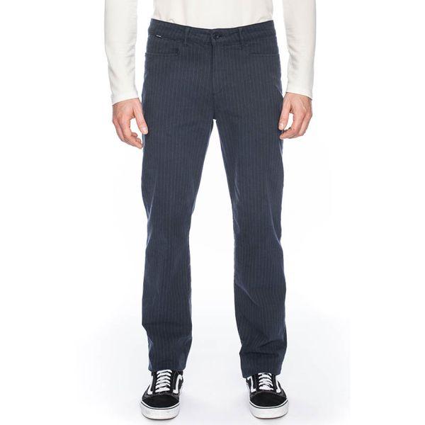 ATO Berlin   Pantalon Balou blauw met pin-stripe