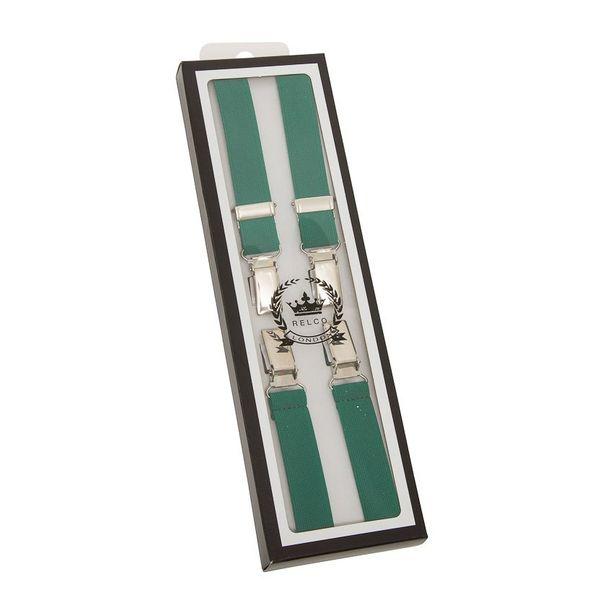 Bretels, bottlegreen, breedte: 1.3 cm