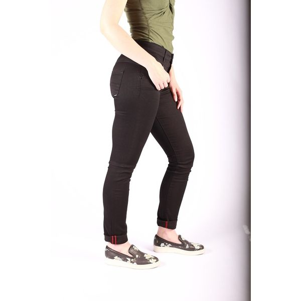 Jeans slimfit Kandy zwart