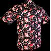 Afbeelding van Chenaski   Overhemd korte mouw, Koi zwart