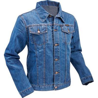 Chenaski | Jeans retro jas, classic denim