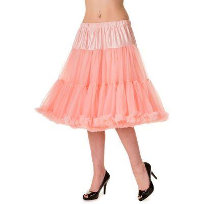 Foto van Petticoat Starlite over de knie met extra volume, roze