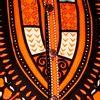 Afbeelding van Chenaski   Overhemd korte mouw, Dashiki black