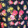 Afbeelding van Chenaski   Overhemd korte mouw, Rozen navy blauw