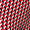 Afbeelding van Chenaski | Legging 3d patroon Stairs zwart creme rood