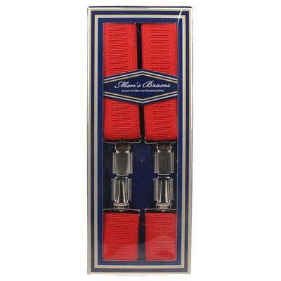 Foto van Bullet69 | Engelse Bretels rood 35 mm met 4 clips