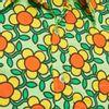 Afbeelding van Chenaski   overhemd Seventies Flowergrid, green