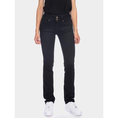 Foto van ATO Berlin   jeans Jackie, zwart bio katoen