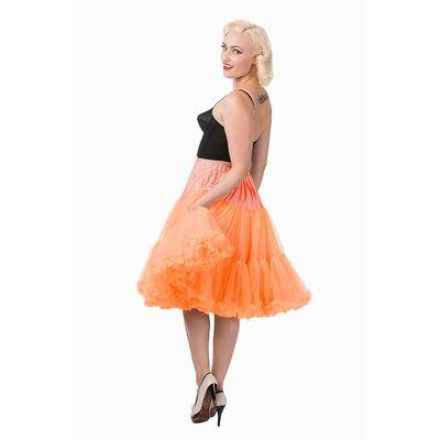 Foto van Petticoat Starlite over de knie met extra volume, oranje