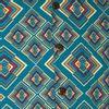 Afbeelding van Chenaski   Overhemd korte mouw, Rhombus, turquoise