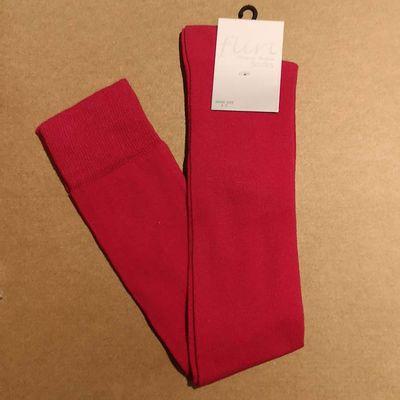 Flirt   Overknee sokken roze