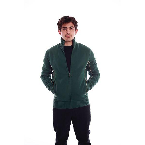 Vest Boy, groen met steekzakken